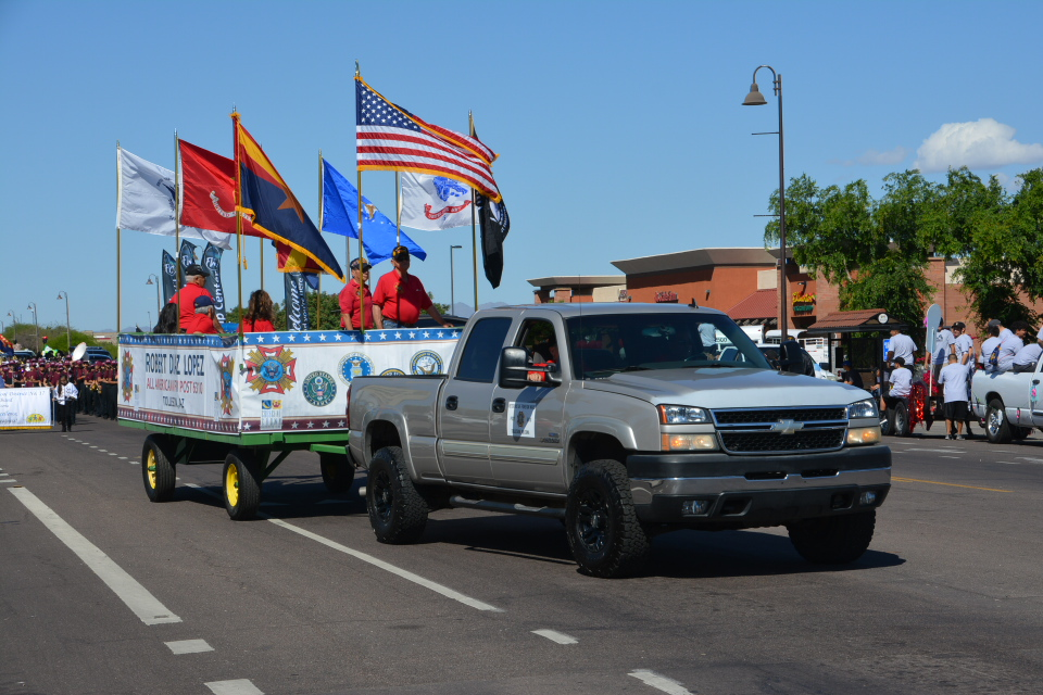 4/6/19 PARTICIPANTS AT TOLLESON WHOOPEE DAZE PARADE